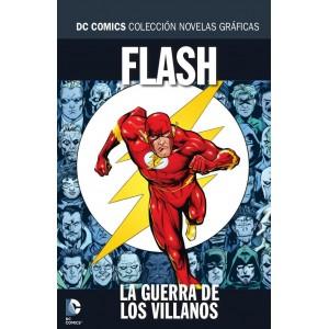 Colección novelas gráficas nº 43: Flash: La guerra de los villanos