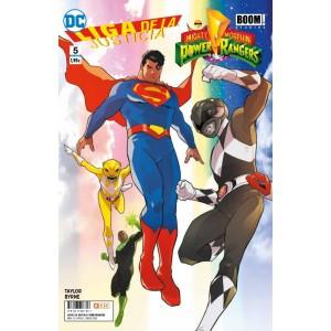 Liga de la Justicia/Power Rangers nº 05