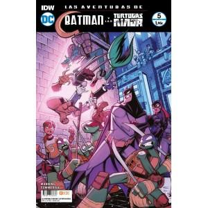 Las aventuras de Batman y las Tortugas Ninja nº 05