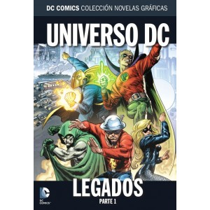 Colección novelas gráficas nº 45: Legados del universo DC - Parte 1
