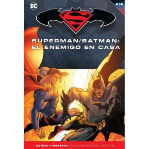Batman y Superman - Colección Novelas Gráficas nº 25: El enemigo en casa