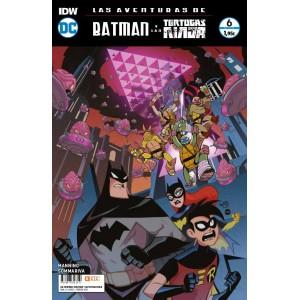 Las aventuras de Batman y las Tortugas Ninja nº 06