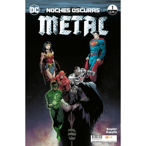 Noches oscuras: Metal nº 01