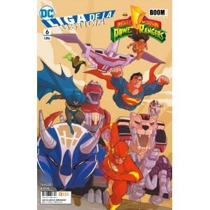 Liga de la Justicia/Power Rangers nº 06