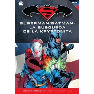 Batman y Superman - Colección Novelas Gráficas nº 29: La búsqueda de la kryptonita