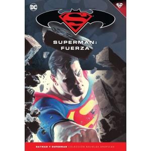 Batman y Superman - Colección Novelas Gráficas nº 30: Fuerza