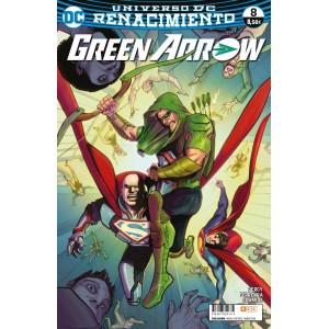 Green Arrow vol. 2, nº 08 (Renacimiento)