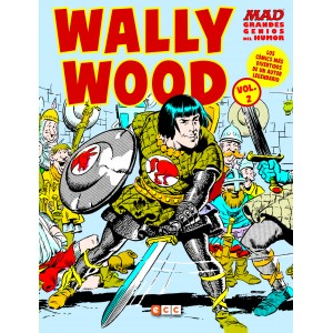 MAD Grandes genios del humor: Wally Wood nº 02