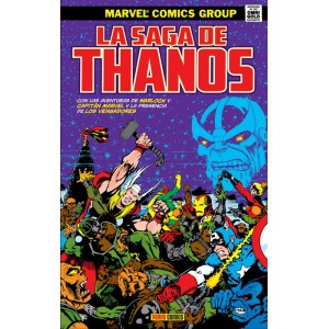 Marvel Gold. La saga de Thanos