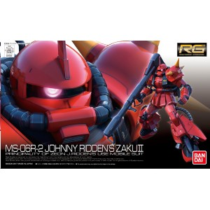 RG ZAKU II MS-06R-2 JOHNNY RIDDEN 1/144