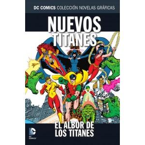 Colección novelas gráficas nº 53: Nuevos Titanes: El albor de los Titanes