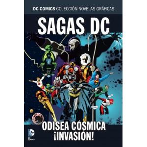 Colección novelas gráficas Especial sagas DC: Odisea cósmica/¡Invasión!