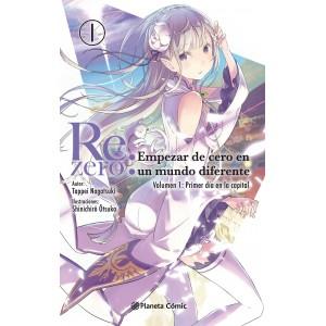 Re:Zero nº 01 (Novela)