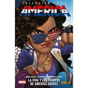 100% Marvel HC. América nº 01