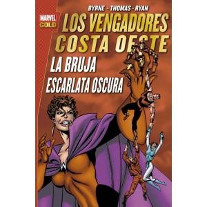 Marvel Gold. Los Vengadores Costa Oeste: La Bruja Escarlata oscura