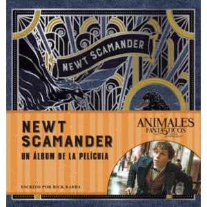 J.K. Rowling's Wizarding World: Newt Scamander. Un álbum de película