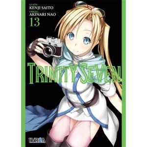 Trinity Seven nº 13