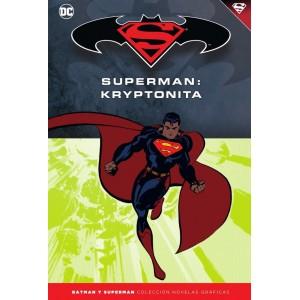 Batman y Superman - Colección Novelas Gráficas nº 34: Kryptonita