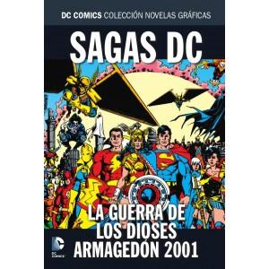 Colección novelas gráficas Especial sagas DC: La guerra de los dioses/ Armagedón 2001