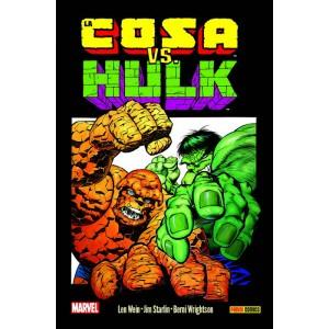 100% Marvel HC. La Cosa vs. Hulk