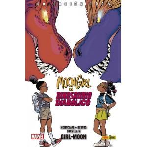 100% Marvel HC. Moon Girl y Dinosaurio Diabólico nº 04