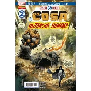 Héroes Marvel - Marvel 2 en uno: La Cosa y la Antorcha Humana nº 02