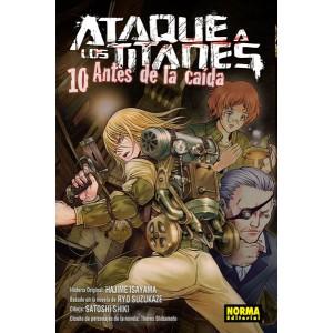 Ataque a los Titanes: Antes de la Caída nº 10