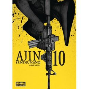 Ajin Semihumano nº 10