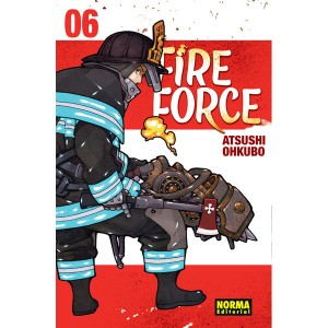 Fire Force nº 06