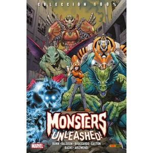 100% Marvel. Monsters Unleashed!