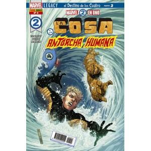 Héroes Marvel - Marvel 2 en uno: La Cosa y la Antorcha Humana nº 03