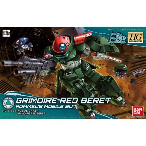 HGBD GRIMOIRE RED BERET 1/144