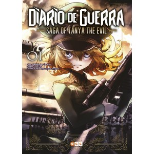 Diario de guerra - Saga of Tanya the Evil nº 01