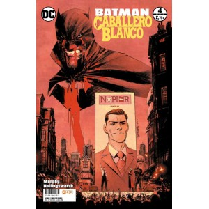 Batman: Caballero blanco nº 04