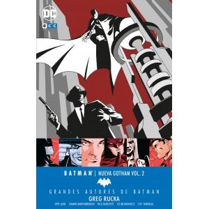 Grandes autores de Batman: Greg Rucka - Batman: Nueva Gotham nº 02