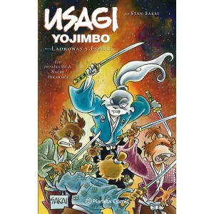 Usagi Yojimbo nº 30 - Ladronas y espías