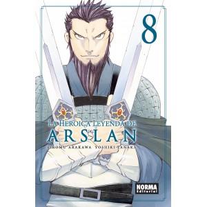 La Heroica Leyenda de Arslan nº 08