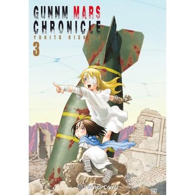 GUNNM Mars Chronicle nº 03