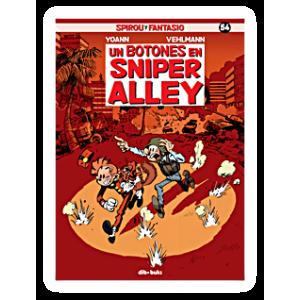 Spirou y Fantasio nº 54: Un botones en Sniper Alley