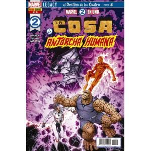 Héroes Marvel - Marvel 2 en uno: La Cosa y la Antorcha Humana nº 05