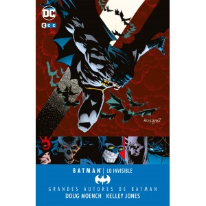 Grandes autores de Batman: Dough Moench y Kelley Jones - Lo invisible