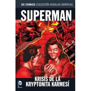 Colección novelas gráficas nº 63: Krisis de la kryptonita karmesí