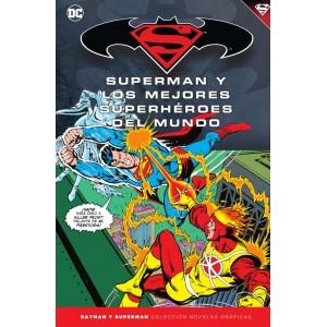 Batman y Superman - Colección Novelas Gráficas nº 43: Superman y los mejores superhéroes del mundo