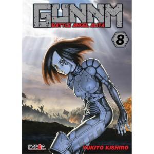 GUNNM: Battle Angel Alita nº 08