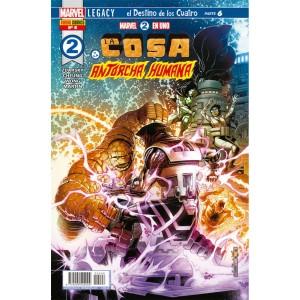 Héroes Marvel - Marvel 2 en uno: La Cosa y la Antorcha Humana nº 06