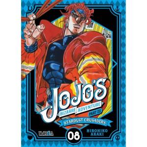 JoJo's Bizarre Adventure Parte 03: Stardust Crusaders nº 08