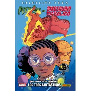 100% Marvel HC. Moon Girl y Dinosaurio Diabólico nº 05