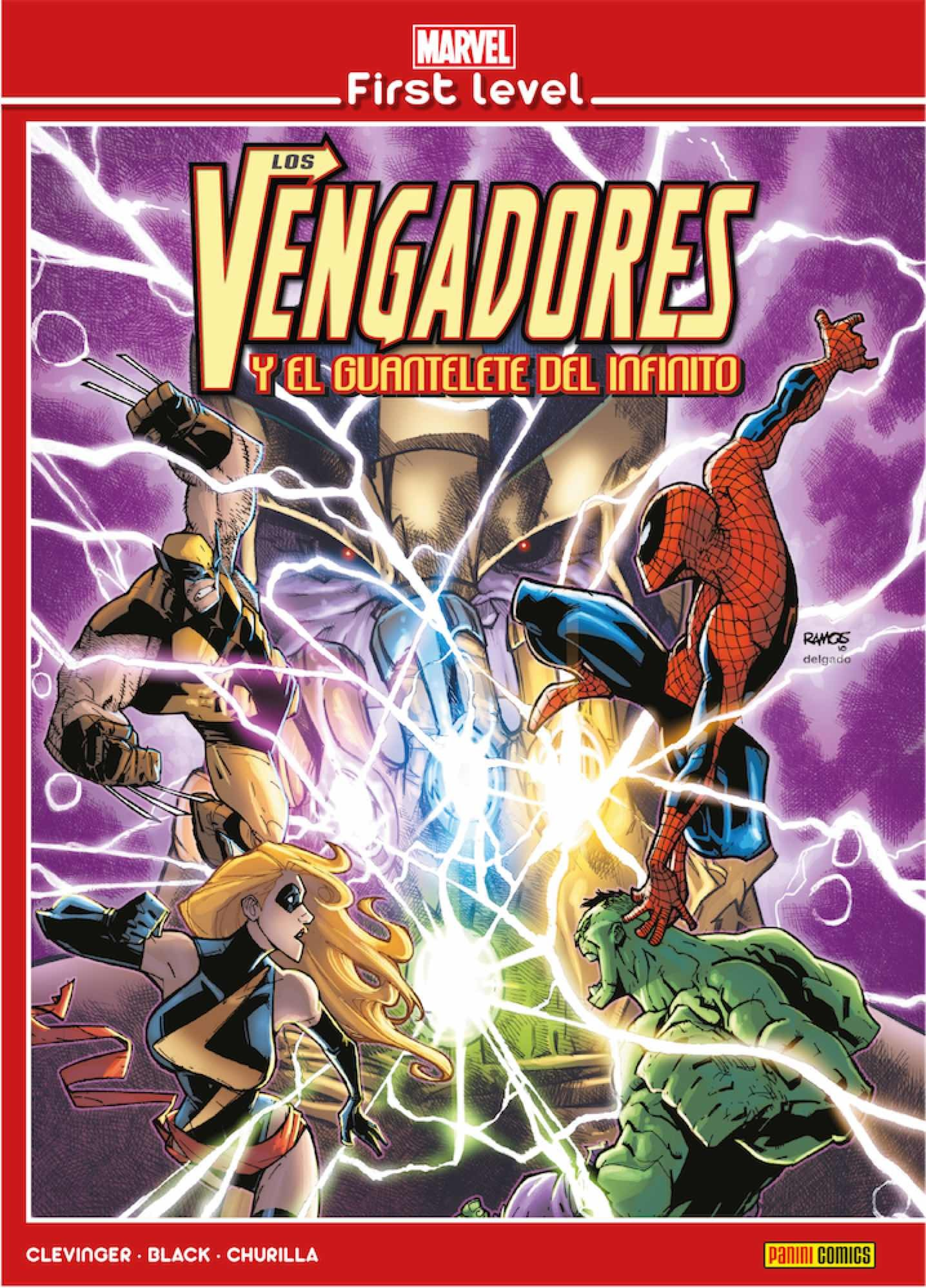 Marvel First Level nº 01: Los Vengadores y el Guantelete del Infinito -  Omega Center Madrid