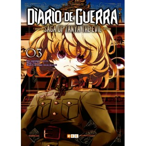 Diario de guerra - Saga of Tanya the Evil nº 03