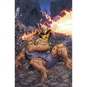 Héroes Marvel - Marvel 2 en uno: La Cosa y la Antorcha Humana nº 08